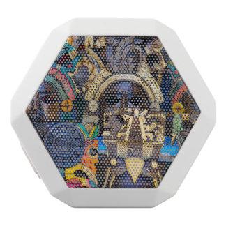 Hölzerne Mayamasken für Verkauf Weiße Bluetooth Lautsprecher