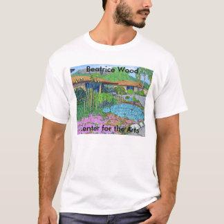 Hölzerne Mitte Beatrice für den Kunst-T - Shirt