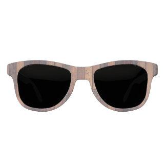 Hölzerne Muster-Sonnenbrille Brille