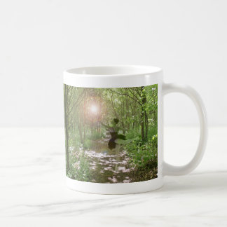 Hölzerne Nymphe Kaffeetasse