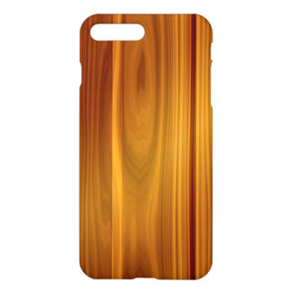 Hölzerne Teakholz iPhone 7 Plusfall iPhone 8 Plus/7 Plus Hülle