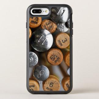 Hölzerne und MetallStricknadeln OtterBox Symmetry iPhone 8 Plus/7 Plus Hülle