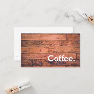 Hölzerner Boden-einfache Treuekarte
