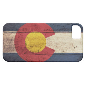 Hölzerner Colorado-Flagge iPhone 5 Fall Schutzhülle Fürs iPhone 5