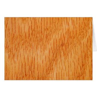 Hölzerner Hintergrund - glattes Bambuskorn Karte