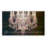 hölzerner lila Leuchter Vintager Scheune Paris Visitenkarten