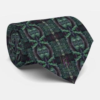 Hölzerner Rasen Personalisierte Krawatte