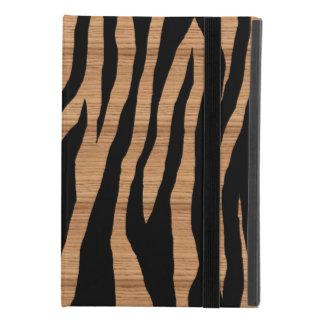 Hölzerner Zebra-Druck iPad Mini 4 Hülle