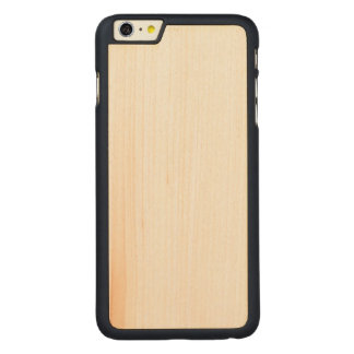 Hölzernes dünnes iPhone 6/6s plus Fall Carved® Maple iPhone 6 Plus Hülle