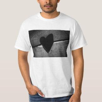 Hölzernes Herz Shirt