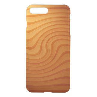 Hölzernes Kiefern-Strudel iPhone X/8/7 plus klaren iPhone 8 Plus/7 Plus Hülle
