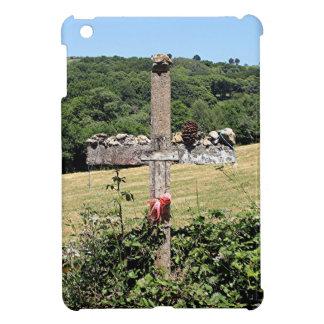 Hölzernes Kreuz, EL Camino, Spanien iPad Mini Schale