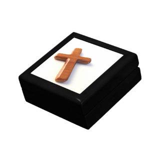 Hölzernes Kreuz Geschenkbox