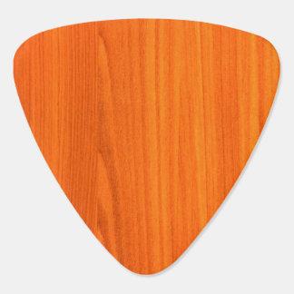 Hölzernes Muster-Plektrum Gitarren-Pick