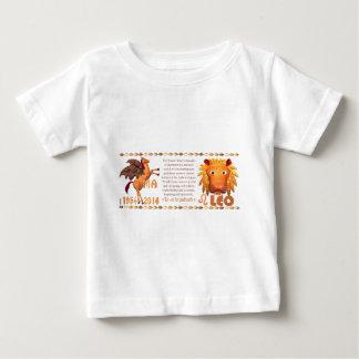 Hölzernes Pferd 1954 ValxArt Tierkreis-Löwen Yin Baby T-shirt