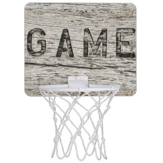 Hölzernes Spiel Mini Basketball Ring