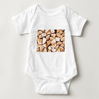Holzfäller Baby Strampler