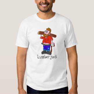 Holzfäller-T-Shirt Shirts