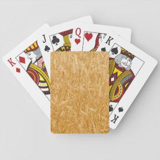 Holzfaserplatte-Beschaffenheit Spielkarten