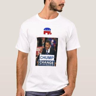 Holzklotz-Änderung T-Shirt