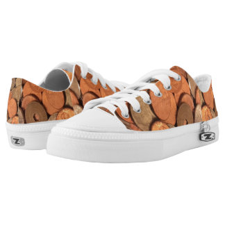 Holzklotz-Änderungs-Turnschuhe Niedrig-geschnittene Sneaker
