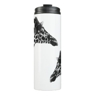 Holzkohlen-Giraffen Thermosbecher