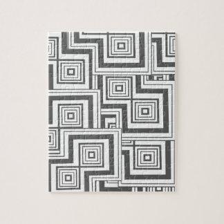 Holzkohlen-Puzzlespiel Puzzle