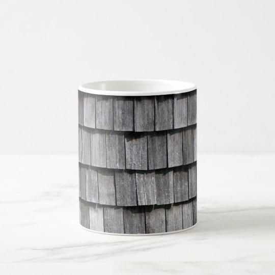 Holzschindeln Schindeln wood shingles Kaffeetasse
