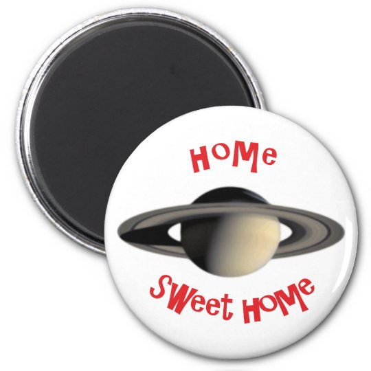 home sweet home runder magnet 5,7 cm