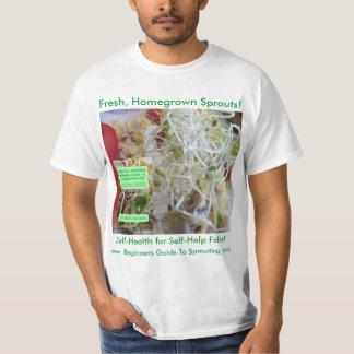 Homegrown Sprösslinge! Selbst-Gesundheit für T-Shirt