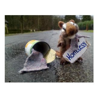 Homeless Postkarte