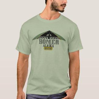 Homer Alaska - Flughafen-Rollbahn T-Shirt