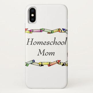 Homeschool Mamma iPhone X Hülle