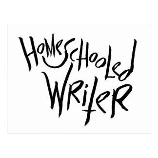 Homeschooled Verfasser Postkarte