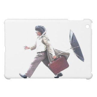 homme pressé iPad mini schale