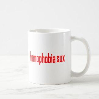 Homophobie Sux Klassiker-Tasse Kaffeetasse