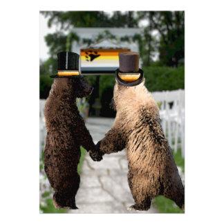 Homosexuelle Bärn-Hochzeits-oder