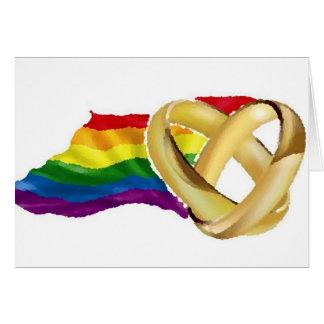 Homosexuelle Ehe Grußkarte