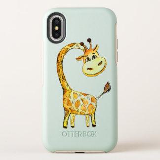 homosexuelle Giraffe OtterBox Symmetry iPhone X Hülle