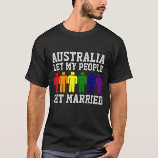Homosexuelle Heirat Australiens ließ meine Leute T-Shirt