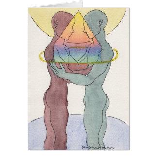 Homosexuelle Heirat-oder Gewerkschafts-Karte