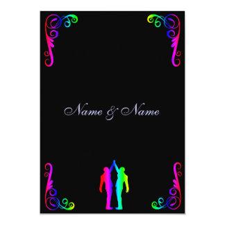 Homosexuelle Hochzeits-Einladung - 12,7 X 17,8 Cm Einladungskarte
