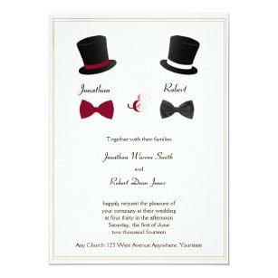 Homosexuelle Hochzeit Einladungen   Zazzle.de