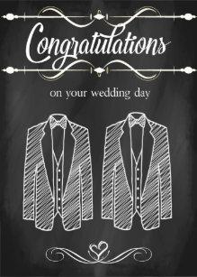 Homosexuelle Hochzeit Einladungen Zazzle De