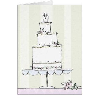 Homosexuelle Hochzeits-Glückwunschkarte Grußkarte