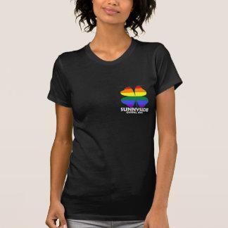 Homosexuelle Iren Sunnyside Taschendunkelheit Tshirt