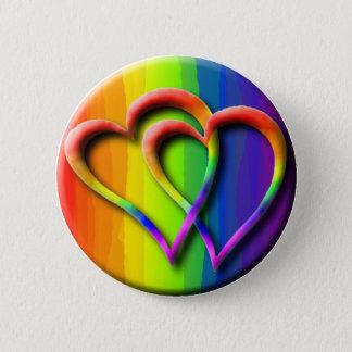 Homosexuelle Liebe der Runder Button 5,7 Cm