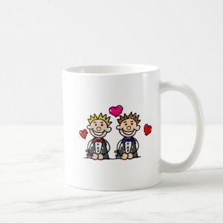 Homosexuelle Paare Kaffeetasse