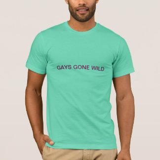 Homosexuelle wild gegangen T-Shirt