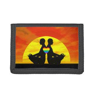 Homosexuelle Yoga-Liebe - 3D übertragen